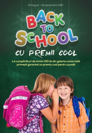 Back to School cu premii cool!