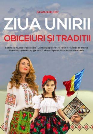 Ziua Unirii se petrece românește la Severin Shopping Center